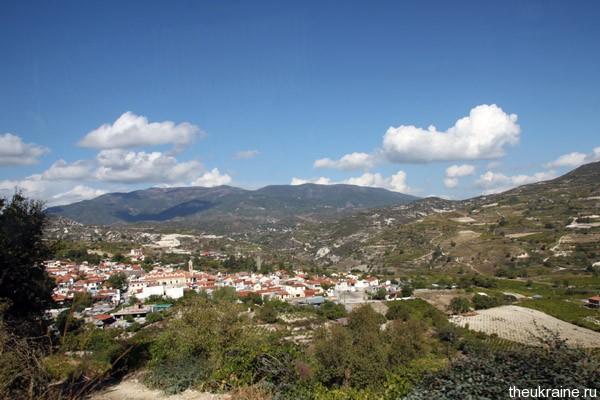Вид на Кипр