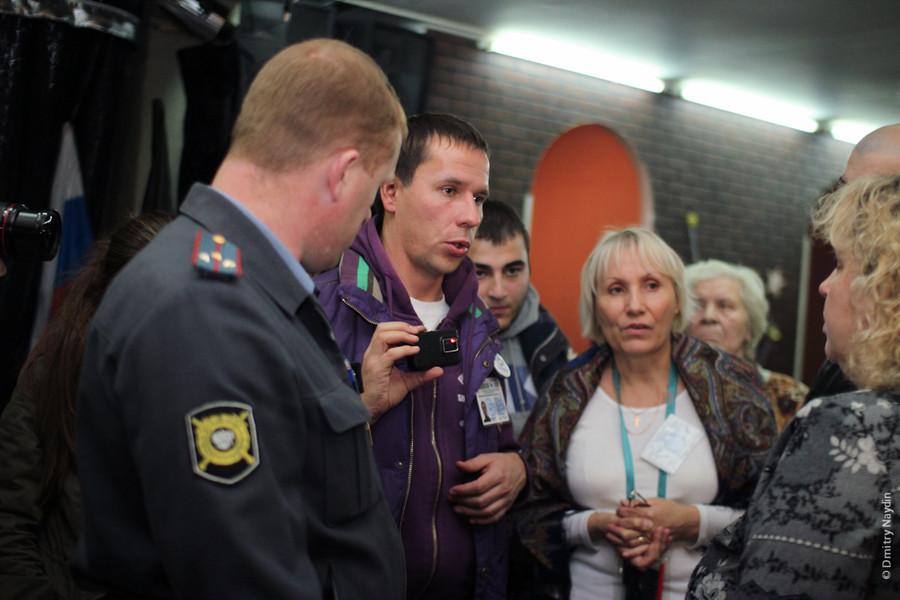 Наблюдатели на выборах мэра Химок