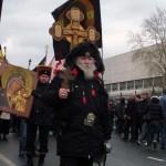 Дмитрий Симонович-Никшич на Русском марше