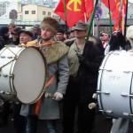 Барабанщики на Русском марше
