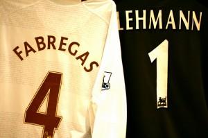 Футболки Фабрегаса и Леманна на Евро-2012