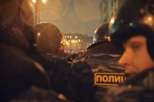 ОМОН в Москве пятого декабря