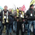Участники Русского марша